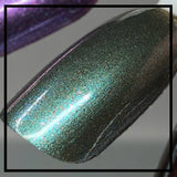 Esmeralda - Green Blue Multichrome Nail Polish - SHINE Nail Polish