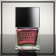 EYEGASM - Rich Burgundy Loaded with a Variety of Sparkling Red, Orange and Gold Micro Glitters - SHINE Nail Polish