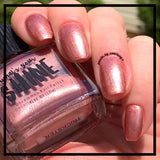 Trixster Iridescent Copper Holographic Indie Nail Polish - SHINE Nail Polish