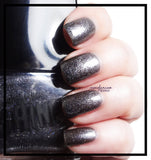 Perfect Storm Gray Holo Nail Polish