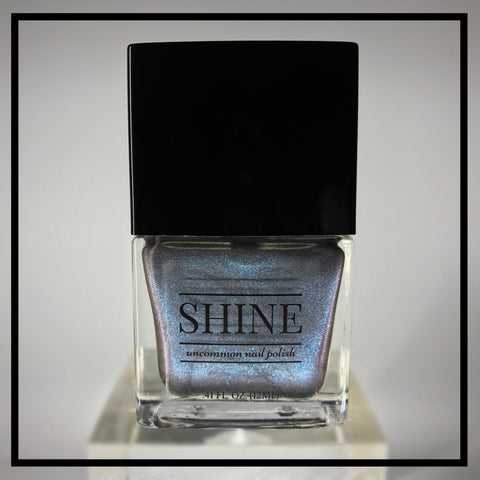 White Rabbit Holographic Nail Polish