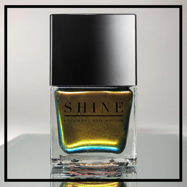Spellbound - Red/Copper/ Green/Cyan Multichrome Nail Polish - SHINE Nail Polish