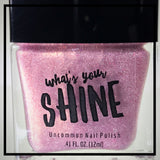 Sprinkles Pink Platinum Holographic Nail Polish Topcoat - SHINE Nail Polish