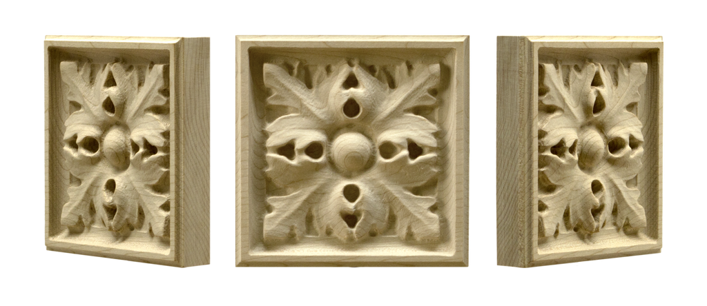 Four Leaf Corner Block