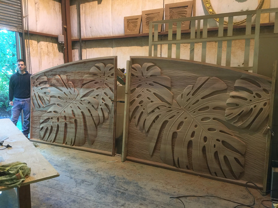 Monstera Drive Gates