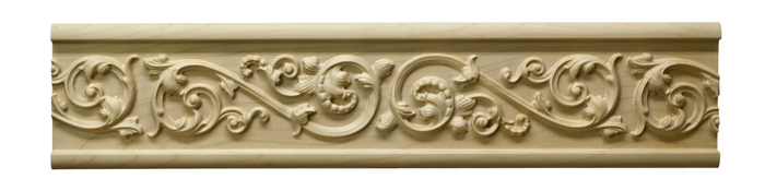 London Leaf Scroll Frieze