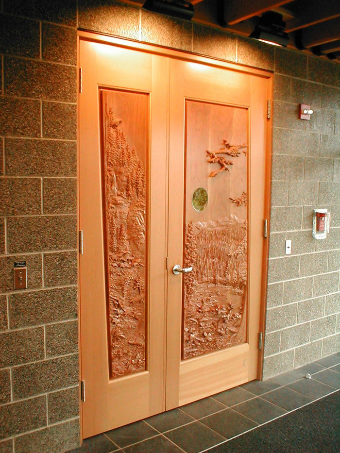 Vista and Vignette Doors 'Tillamook Forest'