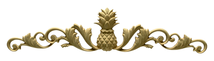 Carveture Pineapple decorative wood onlay