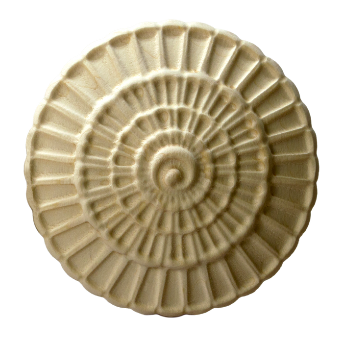 Radiating Shell Rosette