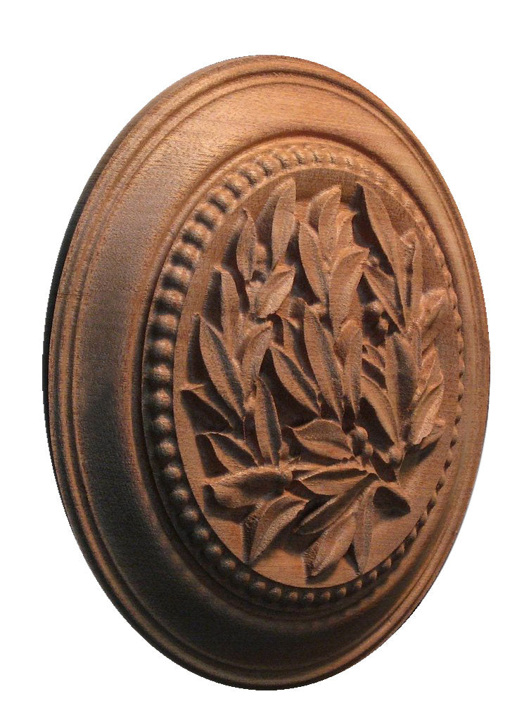 Laurel Leaf Medallion
