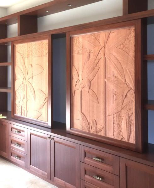 Nature Portrait Cabinet Doors