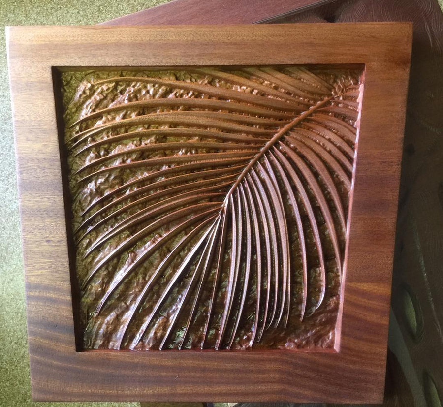 Palm Leaf and Lava