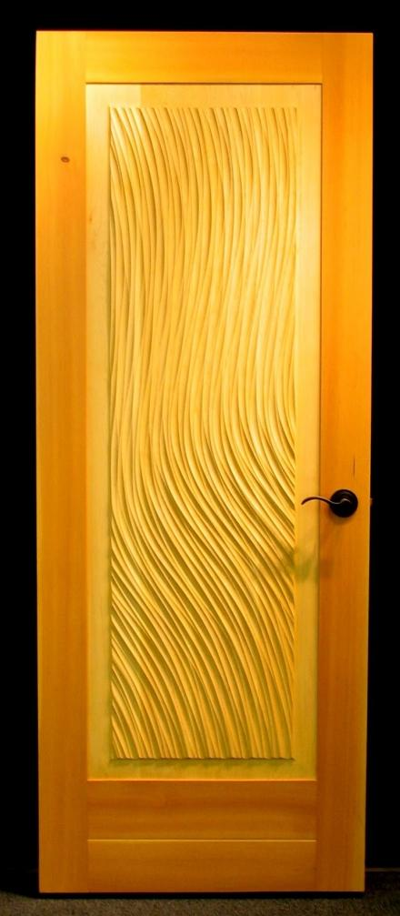 Textured Door 'Stream'