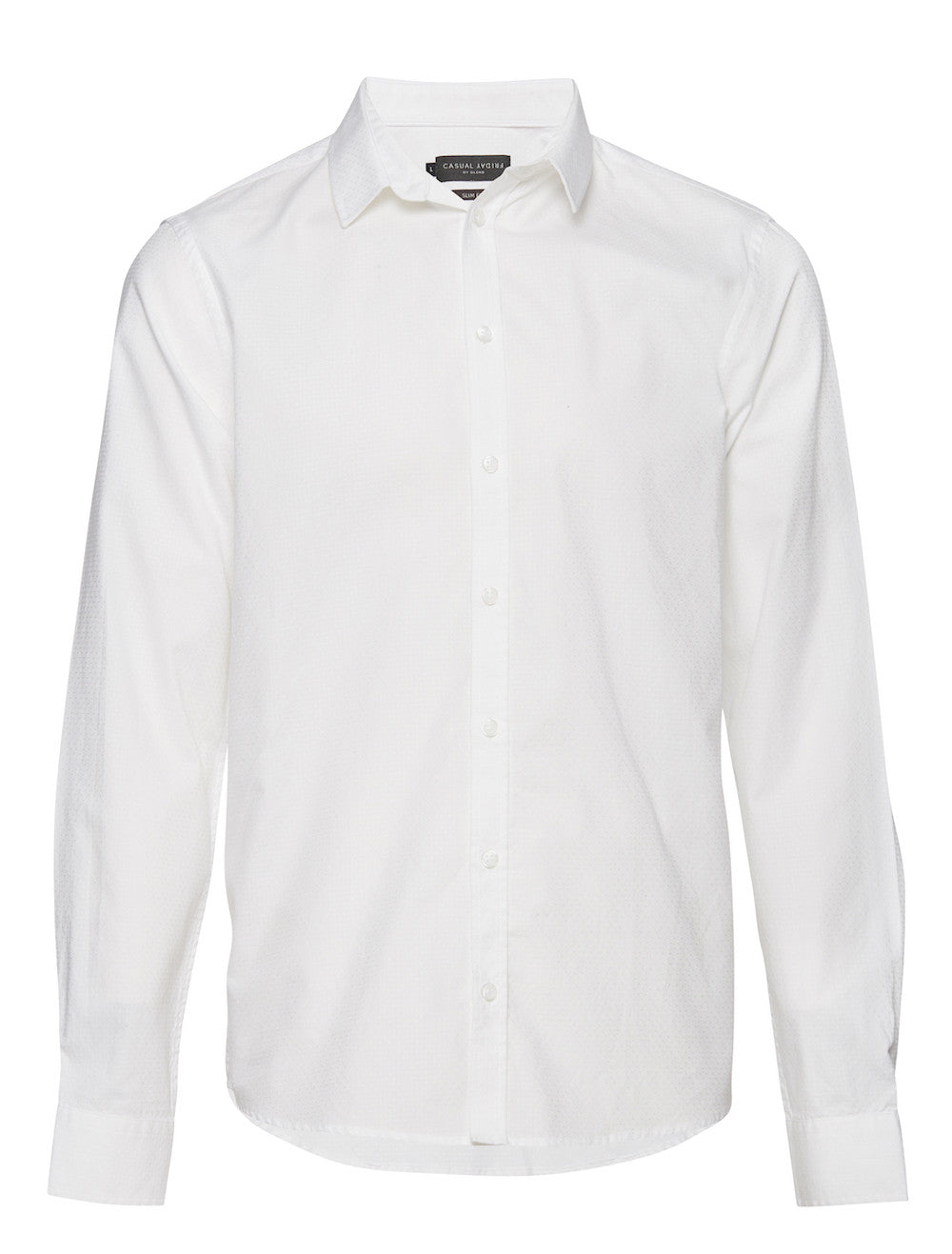 CASUAL FRIDAY - Shirt Sleeved WhiteRe