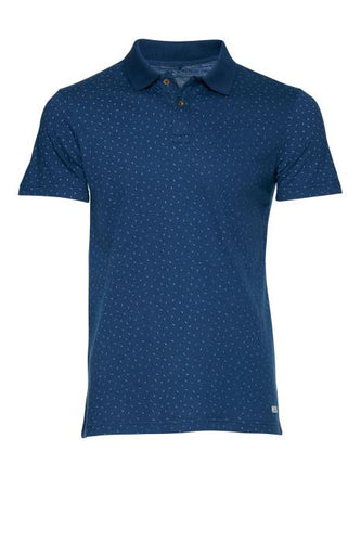 BLEND - Polo Sleeved PaireDots