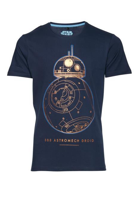 BLEND LICENSED - Short Sleeved StarWars BB-8