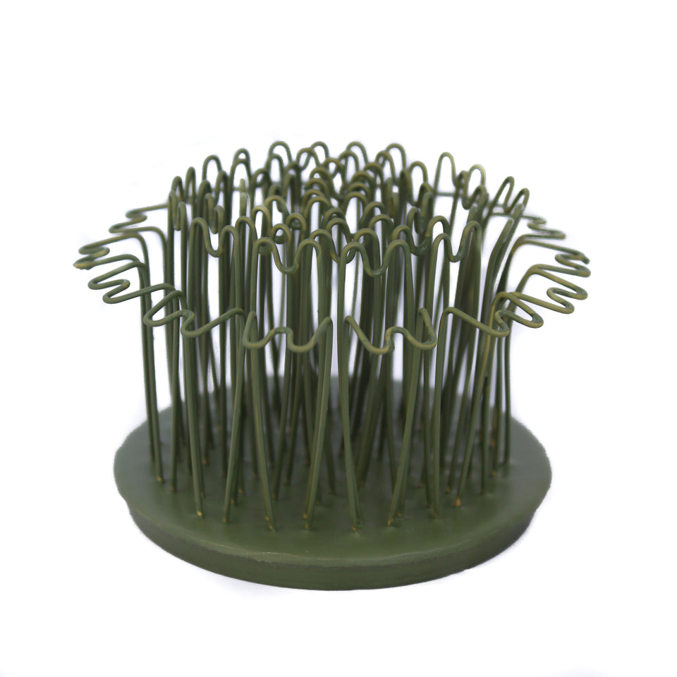 Flexible Brass Hair Pins Make Designing Easy from Any Angle Rust-Free Original Blue Ribbon Hair Pin Holders Made in The USA. Green 3-3//4, Greem Oval 3-3//4