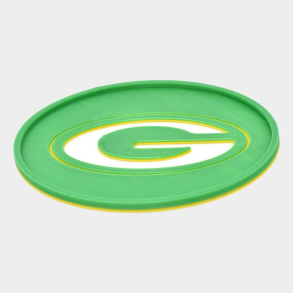 Green Bay Packers Coasters - By ThingHero