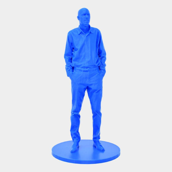 3D Photograph with 1:10 scale uncolored print - By ThingHero