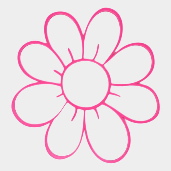 "10"" Pink Flower Wall Decor - By ThingHero"