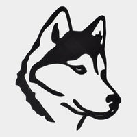 "10"" Husky Wall Decor (Juno) - By ThingHero"
