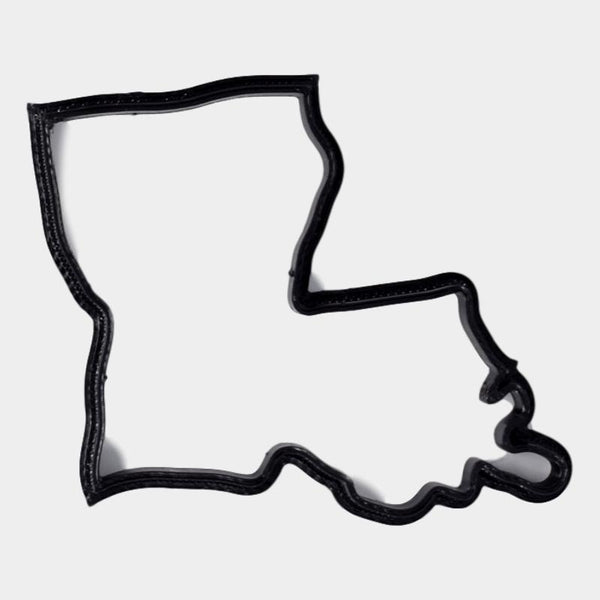 Louisiana Cookie Cutter - By ThingHero
