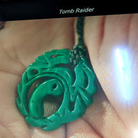 Lara Croft Tomb Raider Jade necklace cosplay - By ThingHero