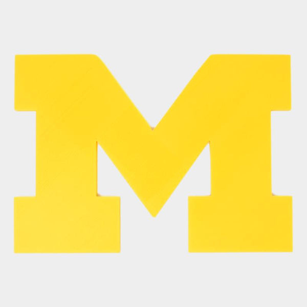 "10"" UofM University of Michigan Maze M Wall Decor - By ThingHero"