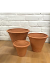"Funnel: Garden Terracotta Pot 6""-10""H"