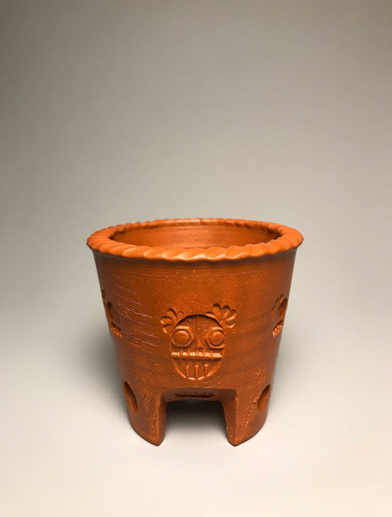 One-of-a-Kind No.12 Tri-Foot Unique Terracotta Pot
