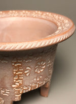 One-of-a-Kind No.14 White Stamped-Rim Pot