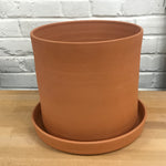 Sparrow Cylinder Terracotta Pot
