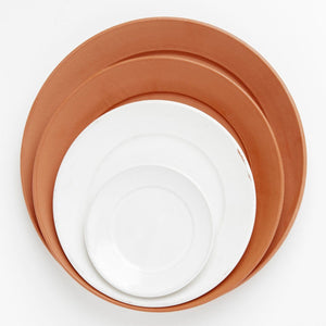 Terracotta Saucers: Soft-as-Silk
