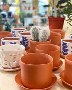 Hazel: Soft-as-Silk Terracotta Pot