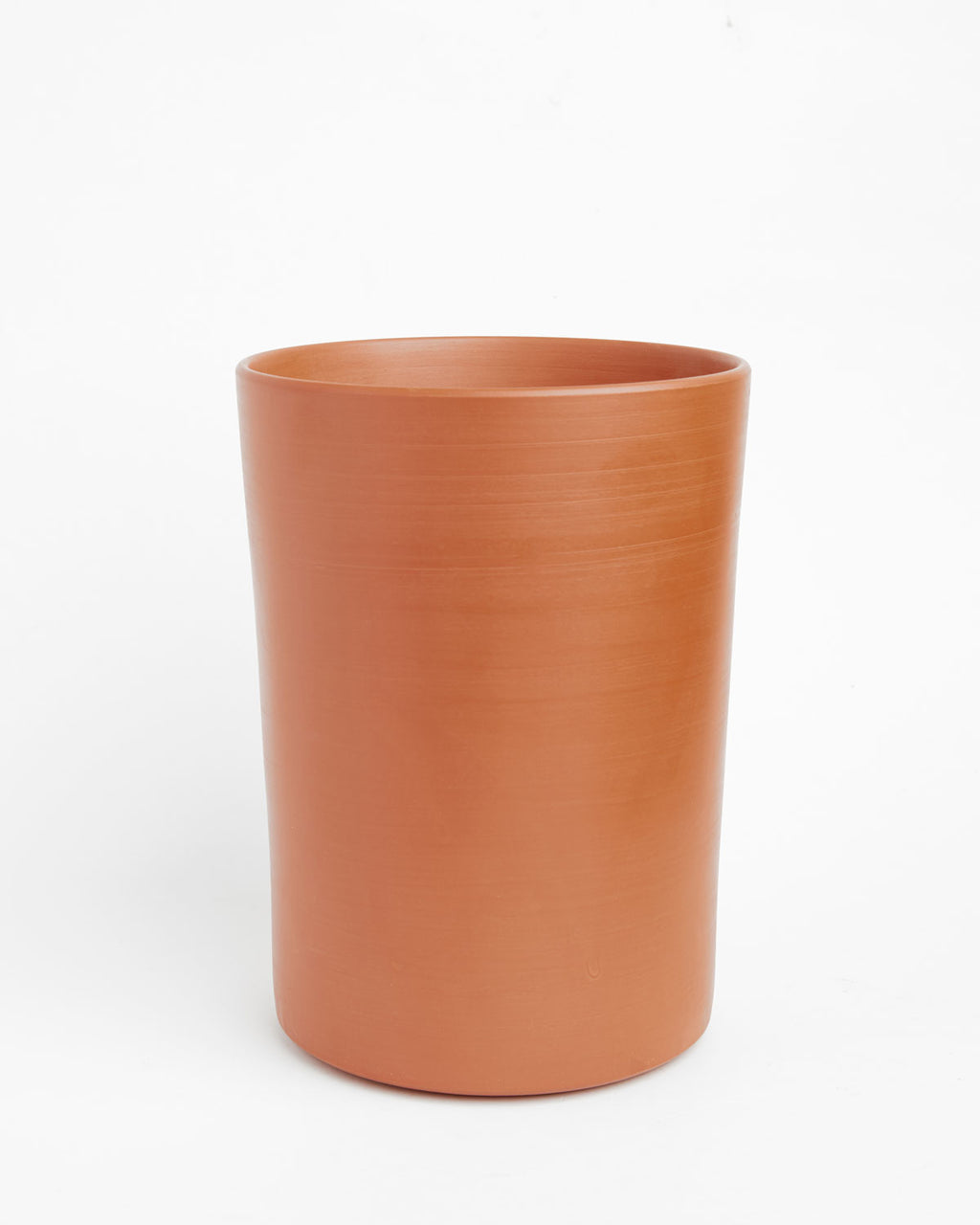 "Finn: Soft-as-Silk Terracotta Pot 7""H x 4.5""D"