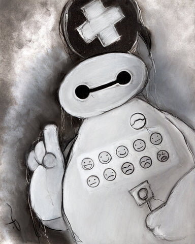 Baymax - Original Illustraion