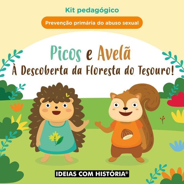 Picos e Avelã à Descoberta da Floresta do Tesouro! - Kit