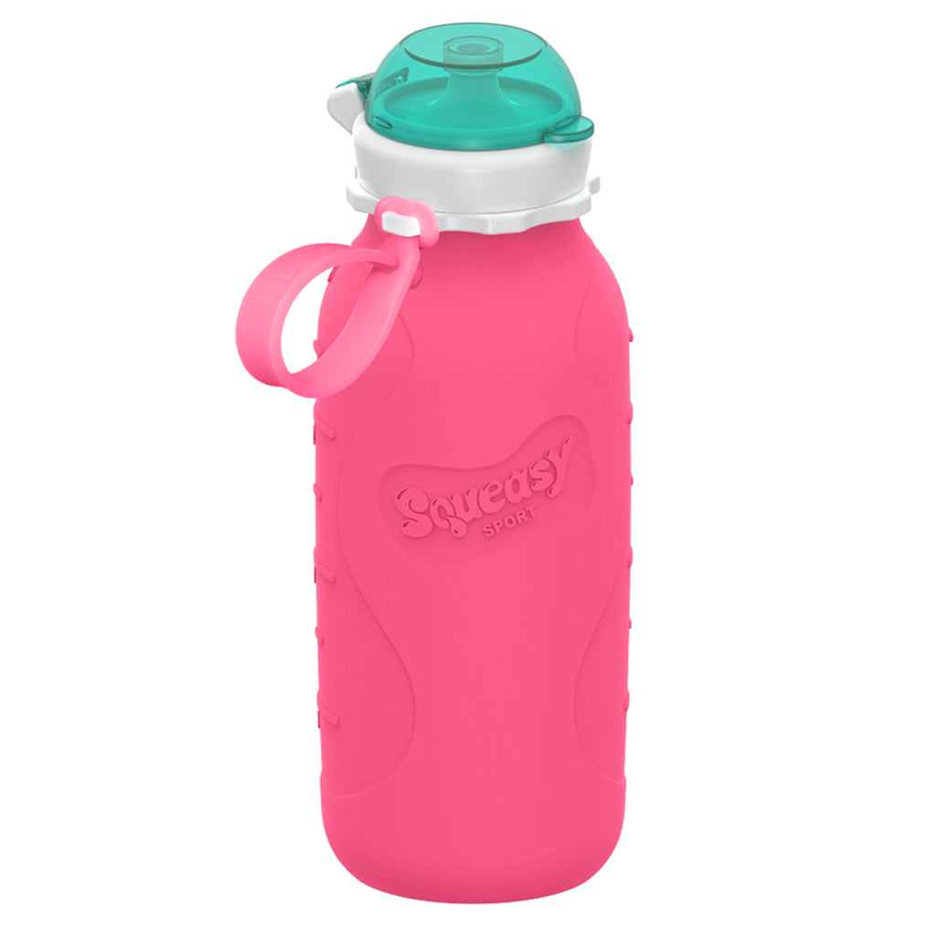 Squeasy Snacker- Sport 473ml- Pink