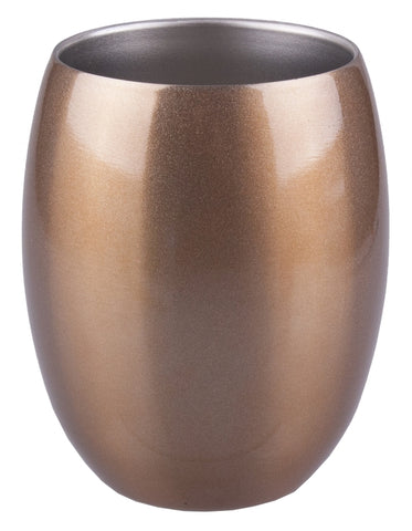 Stainless Steel Insulated Tumbler- 350ml- Champagne Gold