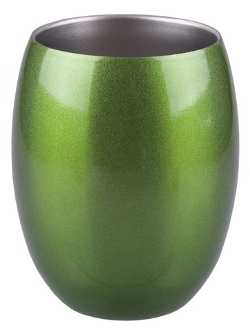 Stainless Steel Insulated Tumbler- 350ml- Green