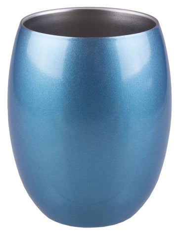 Stainless Steel Insulated Tumbler- 350ml- Topaz Blue