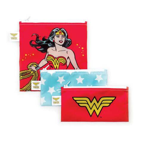 DC Comics- 3pck Snack bag Combo- Wonder Woman