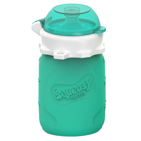 Squeasy Snacker- 104ml- Aqua Blue