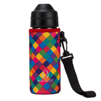 Ecococoon Bottle Cuddler- Kaleidoscope 500ml