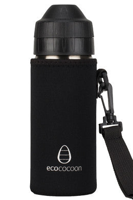 Ecococoon Bottle Cuddler- Black 500ml