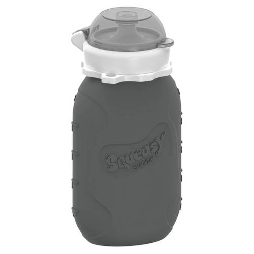 Squeasy Snacker-180ml- Grey