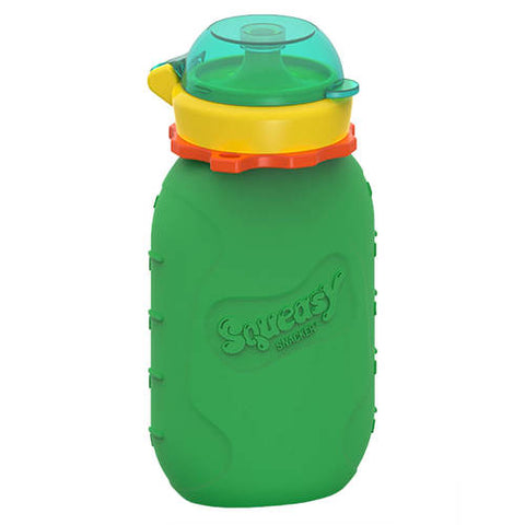 Squeasy Snacker- 180ml- Green