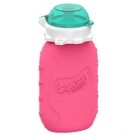 Squeasy Snacker-180ml- Pink