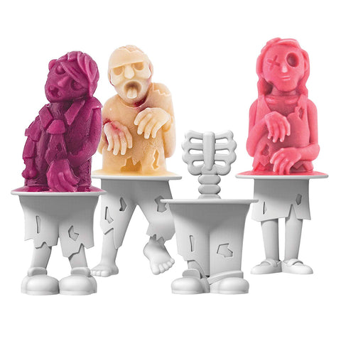 Zombies Ice Pop Molds (set of 4)