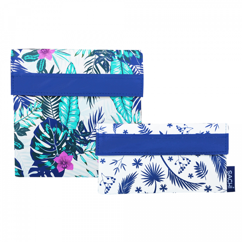 Sachi Reusable Lunch Pocket Set- Tropical Paradise